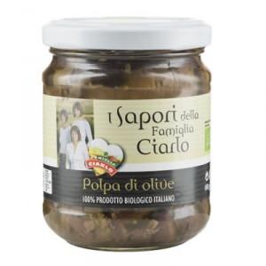 Polpa di Olive Bio 180 Gr.