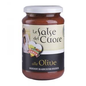 Salsa alle olive bio gr.340