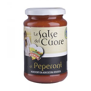 Salsa ai peperoni  bio gr. 340